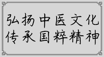 传承中医文化